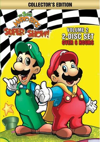 The Super Mario Bros Super Show Volume 2 Products Vintage