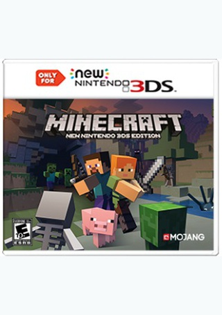 Minecraft: New Nintendo 3DS Edition - Products | Vintage Stock